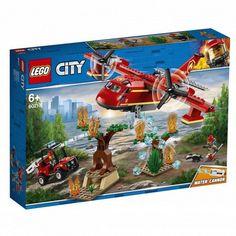 Конструктор Lego City Пожарный самолет (60217) от Stylus