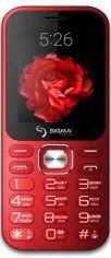 Акция на Мобільний телефон Sigma mobile X-style 32 Boombox Red от Територія твоєї техніки