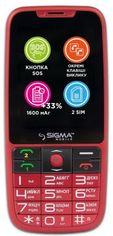 Акция на Мобільний телефон Sigma mobile Comfort 50 Elegance3 Red от Територія твоєї техніки