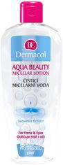Мицеллярная вода для молодой кожи Dermacol Aqua Beauty Micellar Lotion для снятия макияжа 400мл (8590031102825) от Rozetka