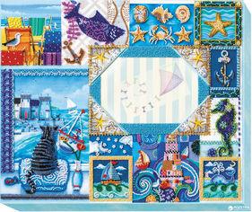 Акция на Набор для вышивки бисером Абрис Арт фоторамка Песенка про море (AP-002) от Rozetka