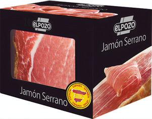 Акция на Хамон Elpozo Jamon Serrano блок 1 кг (8410843085232) от Rozetka