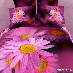 Акция на Комплект постельного белья Love You Сатин 200 х 220 Краса (m008419) от Rozetka