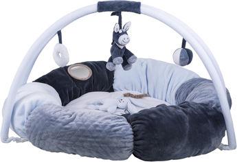 Акция на Развивающий коврик Nattou с дугами и подушками Алекс и Бибу (321259) (5414673321259) от Rozetka