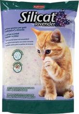 Наполнитель для кошачьего туалета Padovan Silicat Lavender с ароматом лаванды Силикагелевый впитывающий 2.2 кг (8001254004990)(PP00499) от Rozetka