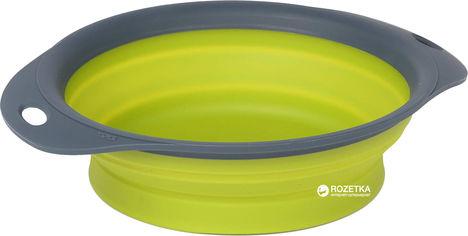 Акция на Универсальная складная миска для кормления для собак Dexas Collapsible Pet Bowl большая 1440 мл Зеленая (dx30793) от Rozetka