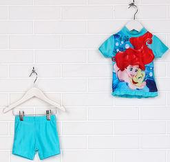 Акция на Костюм для плаванья (футболка + шорты) Disney ld04200005 74-80 см Голубой (SHEK2000000236407) от Rozetka