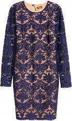 Платье H&M 0560564 42 Синее (6666000074232) от Rozetka