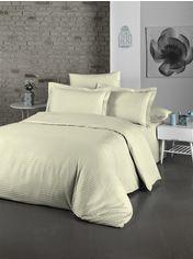 Акция на Комплект постельного белья LightHouse Exclusive Sateen Stripe Lux 200х220 (2200000550163) от Rozetka
