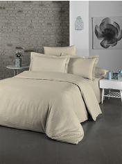 Акция на Комплект постельного белья LightHouse Exclusive Sateen Stripe Lux 200х220 (2200000550170) от Rozetka