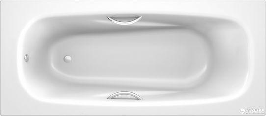 Акция на Ванна стальная KOLLER POOL DELINE 150х75 с ручками Fresh A00ACRFR1 и ножками APMROS100 от Rozetka