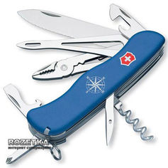 Швейцарский нож Victorinox Skipper Blue (0.9093.2W) от Rozetka
