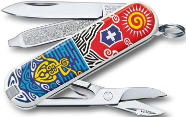 Швейцарский нож Victorinox Classic LE New Zealand (0.6223.L1806) от Rozetka