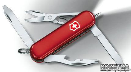 Швейцарский нож Victorinox Midnite Manager Red (0.6366) от Rozetka