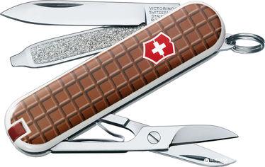 Акция на Швейцарский нож Victorinox Classic Chocolate (0.6223.842) от Rozetka