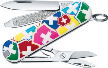Акция на Швейцарский нож Victorinox Classic VX Colors (0.6223.841) от Rozetka