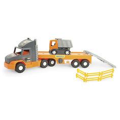 Акция на Super Tech Truck с грузовиком WADER (36710) от Будинок іграшок