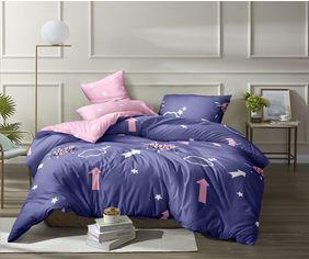 Акция на Комплект постельного белья MirSon Бязь Premium №137 Nina 2 175х210 (2200001085787) от Rozetka