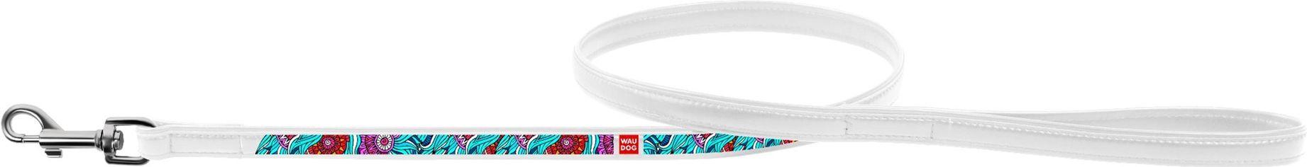 Поводок Collar WauDog с рисунком Лето 122 см 18 мм Белый (378415) (4823089309880) от Rozetka
