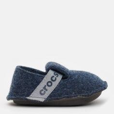 Акция на Комнатные тапочки Crocs Kids Classic Slipper K 205349-410-C5 20-21 12.3 см Синие (191448219083) от Rozetka