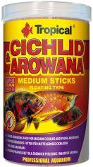 Корм Tropical Cichlid&Arowana Medium Sticks для аквариумных рыб в палочках 1 л (5900469635261) от Rozetka