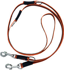 Поводок-перестежка IQ Pet прорезиненный 2.5 м 20 мм Оранжевый (iq-1031/OR) от Rozetka