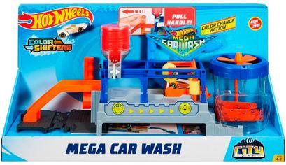 Игровой набор автотрек Hot Wheels Измени цвет Бешеная автомойка (08879616390889) (FTB66) от Rozetka