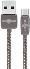Акция на Кабель Remax Regor Data Cable for Type-C Tarnish (RC-098A-Tarnish) от Rozetka