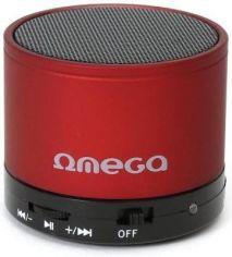 Акция на Портативная акустика Omega Bluetooth OG47R Red от Територія твоєї техніки