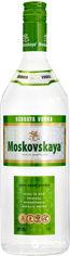 Акция на Водка Moskovskaya 1 л 40% (4750021001086) от Rozetka