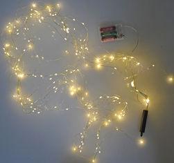 Светодиодная ветка Новогодько (YES! Fun) 200 ламп, 10 нитей, 200 см Белая (801146) (5056137188048) от Rozetka