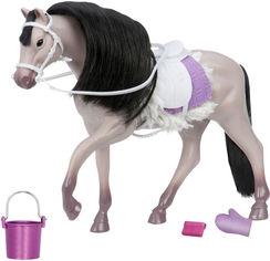 Акция на Игровая фигурка Lori Серая Андалузкая лошадь (LO38001Z) от Rozetka