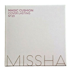 Акция на Кушон для лица Missha Magic Cushion Cover Lasting SPF 50+/PA+++ No.23 15 г (8809581449299) от Rozetka