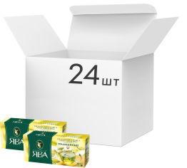 Упаковка чая пакетированного Принцесса Ява Зеленый 24 шт по 25 пакетиков (4823096806259) от Rozetka