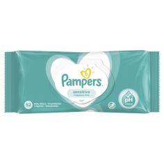 Детские влажные салфетки Pampers Sensitive, 52 шт. от Pampik