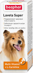 Жидкие витамины Beaphar Laveta Super for dogs для шерсти собак 50 мл (12554) (8711231125548) от Rozetka