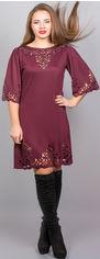 Платье Olis-Style Валенсия 3450 48 Бордовое от Rozetka