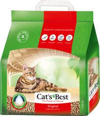 Наполнитель для кошачьего туалета Cats Best Original Древесный комкующий 2.1 кг (5 л) (4002973000861/4002973000892) от Rozetka