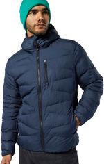 Куртка Reebok Ow Dwnlk Jckt EB6862 L Темно-синяя (4062051930275) от Rozetka