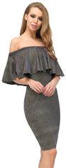 Платье Carica KP-10220-9 L Сине-малиновое (2000002254652) от Rozetka