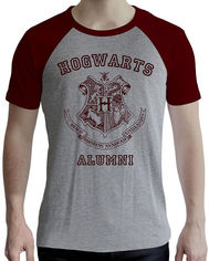 Акция на Футболка ABYstyle Harry Potter XXL Серая (ABYTEX502XXL) от Rozetka