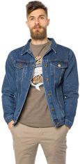 Акция на Джинсовая куртка MR520 MR 102 1661 0219 S Dark Blue (2000099784940) от Rozetka