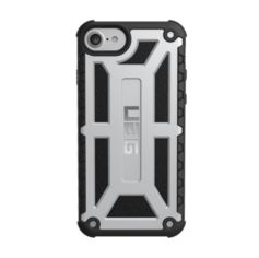 Акция на Чехол UAG для iPhone SE 2020/8/7/6S Monarch Platinum Black от MOYO
