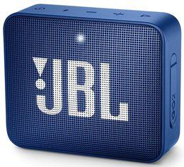Акция на Портативная акустика JBL GO 2 Blue от MOYO