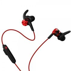 Акция на Наушники Bluetooth 1MORE E1018BT iBFree Sport Mic Red от MOYO