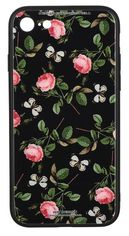 Акция на Чeхол WK для Apple iPhone 7/8/SE 2020 WPC-061 Flowers RD/BK от MOYO