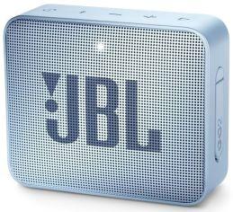 Акция на Портативная акустика JBL GO 2 Ice Blue от MOYO
