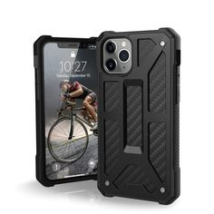 Акция на Чехол UAG для iPhone 11 Pro Monarch Carbon Fiber от MOYO