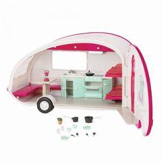 Акция на Транспорт для кукол LORI Кемпер розовый (LO37011Z) от MOYO