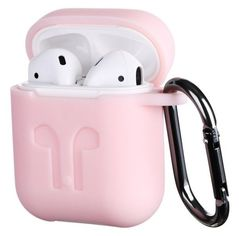 Акция на Чехол 2Е для Apple AirPods Pure Color Silicone Imprint Light pink от MOYO